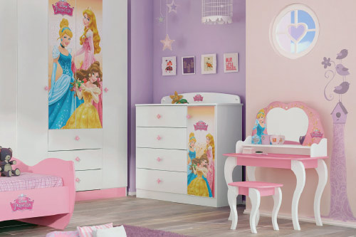 Muebles de princesas disney tobogan iml frozen taza de for Muebles disney
