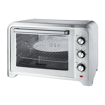 HORNO ELECTRICO PEABODY PE-HG42MHL ACERO INOXIDABLE