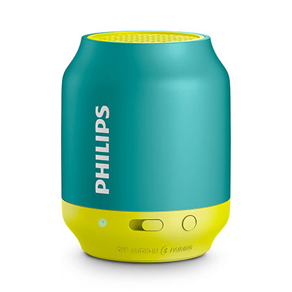 PARLANTE PORTATIL PHILIPS BT50A/00 VERDE