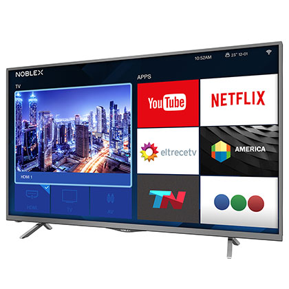 TV SMART HD NOBLEX DJ32X5000 NEGRO