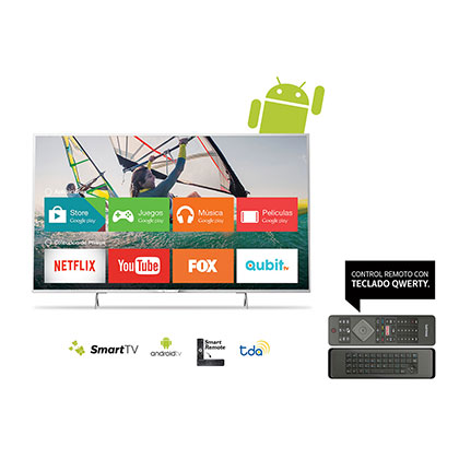 "SMART TV LED 43"" FHD PHILIPS 43PFG5501/77 ANDROID NETFLIX"