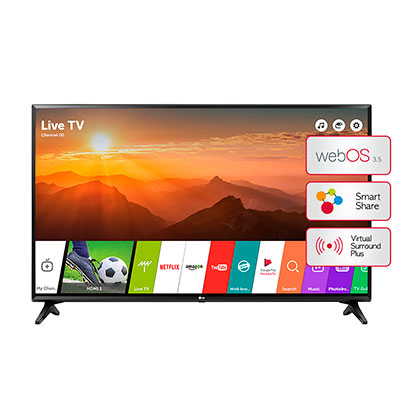 "SMART TV LED 43"" FHD LG 43LJ5500"
