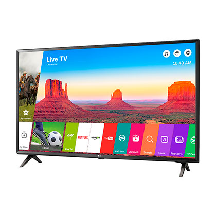SMART TV 4K 43¨ LG 43UK6300 QUAD CORE