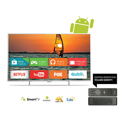 "SMART TV LED 55"" 4K UHD PHILIPS 55PUG6801/77 ANDROID"