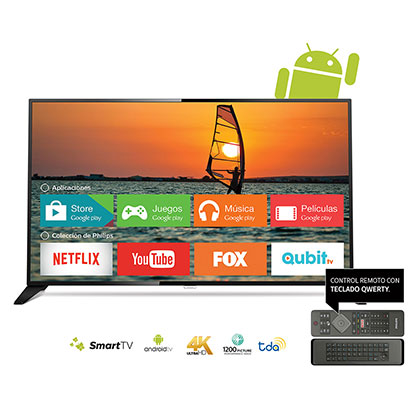 SMART TV LED 65 4K UHD PHILIPS