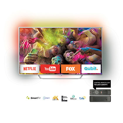 "SMART TV LED 65"" 4K UHD PHILIPS 65PUG6412/77"