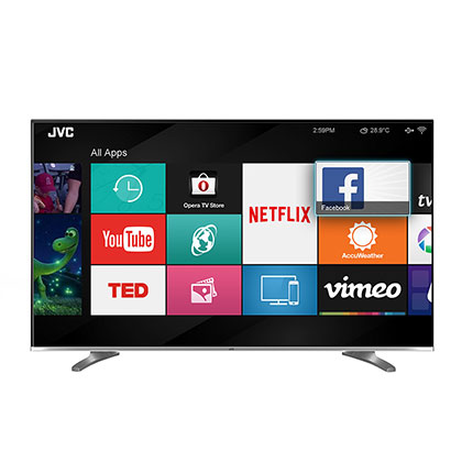 "Smart Tv Led 50"" Fhd JVC LT-50DA770"