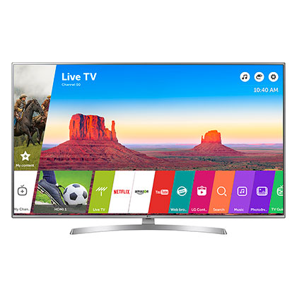 TV SMART UHD LG 55UK6550PSB