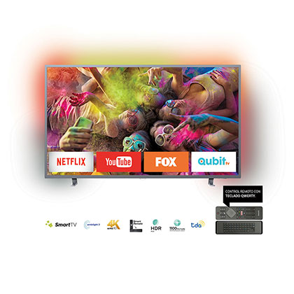 "Tv Smart Led 55"" Ultra HD 4k Philips 55PUG6703/77"