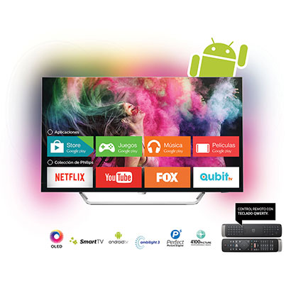 TV OLED SMART 4k 55 PHILIPS 55PLED873/77