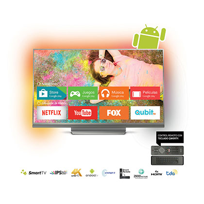 "TV LED 55"" 55PUG8513/77 SMART 4K PHILIPS"