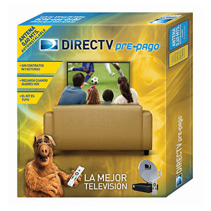 Kit Prepago Direct Tv Antena de 60 Cm