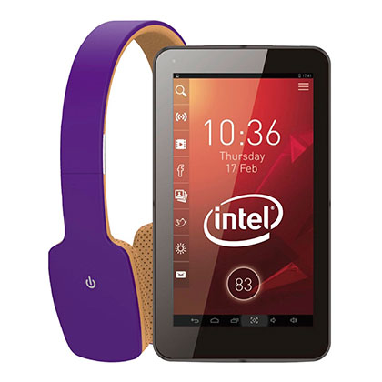 TABLET TG701 + AURICULAR BLUETOOTH NEGRO