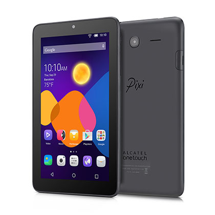 TABLET ALCATEL PIXI 3 GRIS OSCURO