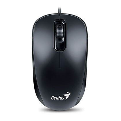MOUSE GENIUS DX-110 NEGRO