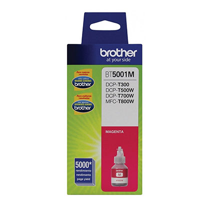 BOTELLA DE TINTA BROTHER BT5001M MAGENTA