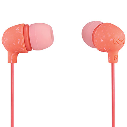AURICULARES HOUSE OF MARLEY LITTLE BIRD PEACH EM-JE060-PK