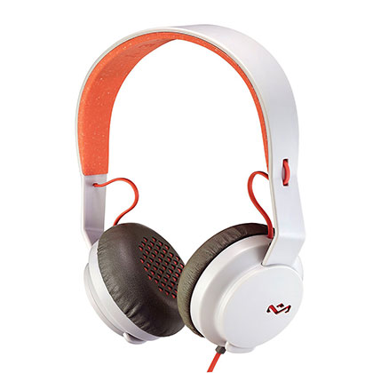 AURICULARES HOUSE OF MARLEY REBEL ROAR PEACH EM-JH081-PK