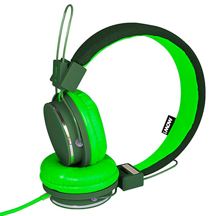 Auriculares MOW Spring Wired Verde