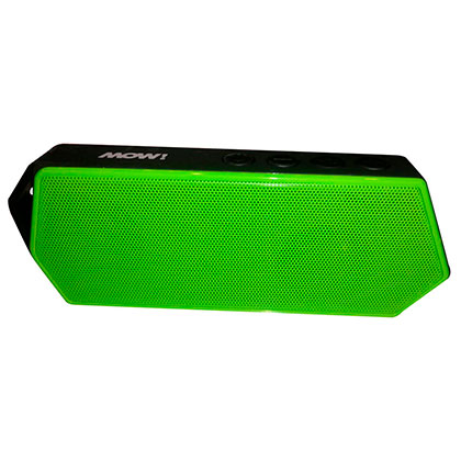 Parlante Portatil MOW MW-POCKET Bluetooh Verde