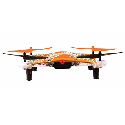 DRON LEVEL UP DRONE V8 NARANJA