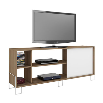 RACK MAKENNA BR 32-47 ROBLE CON BLANCO