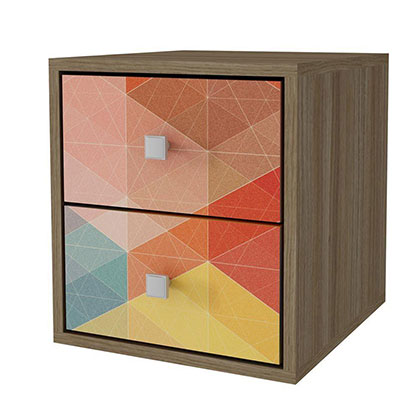 CUBO MAKENNA BCB 01-145 ROBLE CON MULTICOLOR