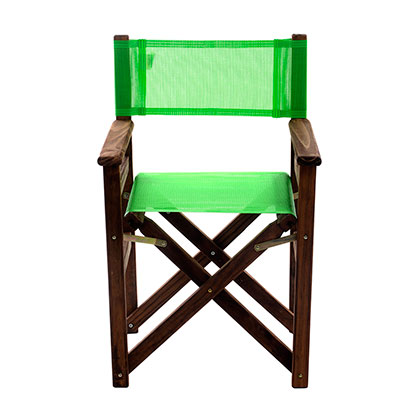 SILLON PLEGABLE DE DIRECTOR MAKENNA 10032 VERDE