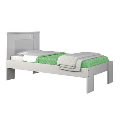Cama 1 Plaza Makenna 861440 New Emilia Blanco