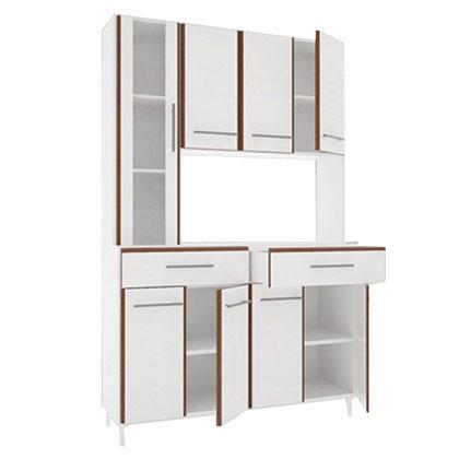 mueble de cocina makenna 420 8 puertas 2 cajones ribeiro