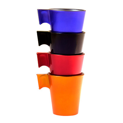 Set X 4 Tazas Flashy Expresso Color