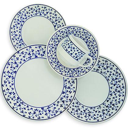Set de platos 30 piezas era for Set de platos