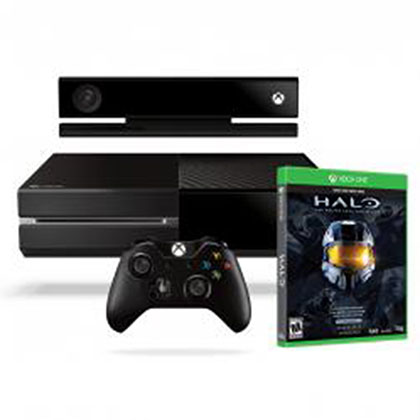 XBOX ONE 500GB + KINECT + HALO