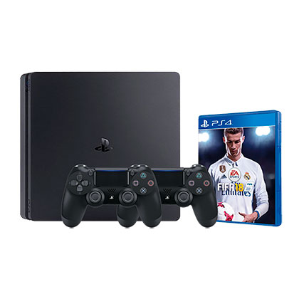 Consola playstation 4 ps4 slim 1tb fifa 18 for Sillas para playstation 4