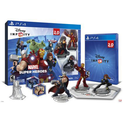 PACK INFINITY - DISNEY - PS4 MARVEL HEROES