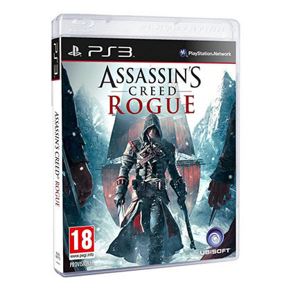 PS3 - UBISOFT - ASSASSINS CREED ROGUE