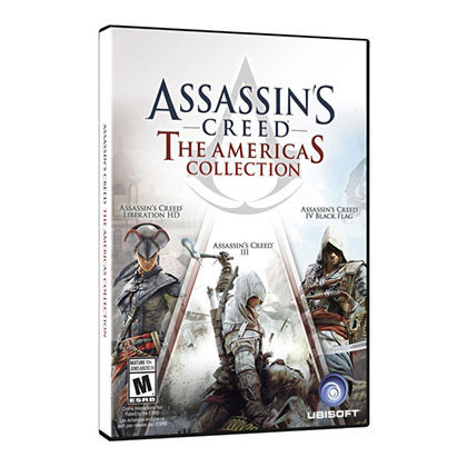 PS3 - UBISOFT - ASSASSINS CREED THE AMERICAS COLLECTION