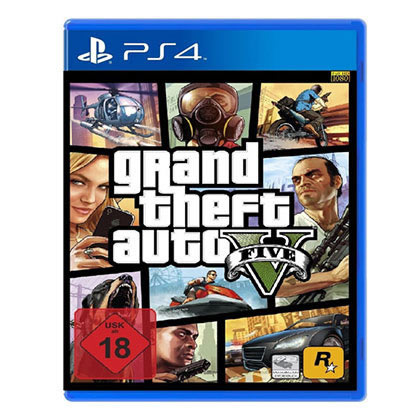 PS4 - ROCK STAR - GRAND THEFT AUTO V