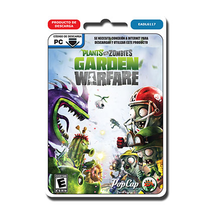 JUEGO PARA PC PLANTS VS ZOMBIES GARDEN WARFARE DESCARGABLE