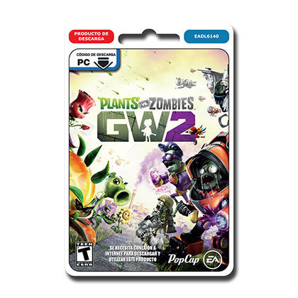 JUEGO PARA PC PLANTS VS ZOMBIES GARDEN WARFARE 2 DESCARGABLE