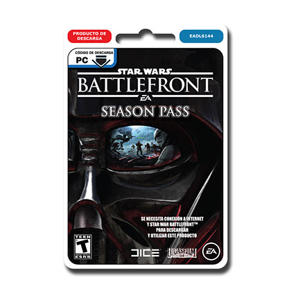 JUEGO PARA PC STAR WARS BATTLEFRONT SEASON PASS DESCARGABLE