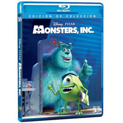 DISNEY Monster Inc  3D