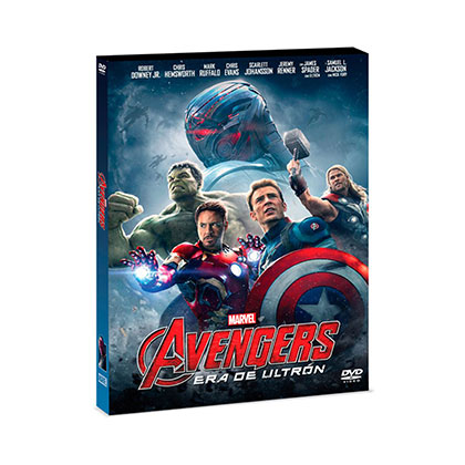DVD DISNEY AVENGERS ERA DE ULTRON