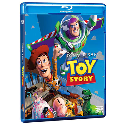 BLURAY DISNEY TOY STORY 3D