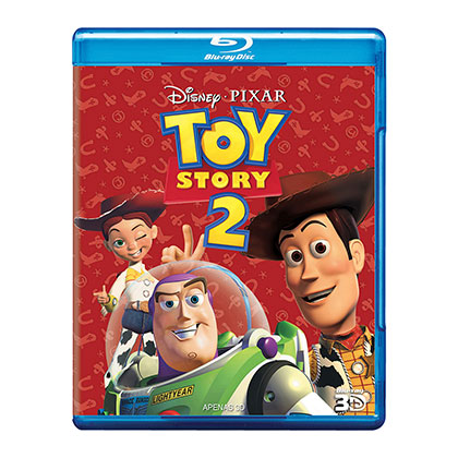 BLURAY DISNEY TOY STORY 2 3D