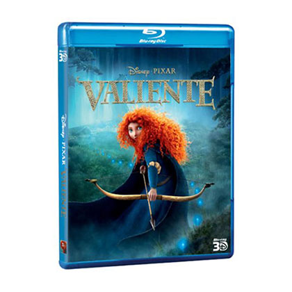 BLURAY DISNEY VALIENTE 3D