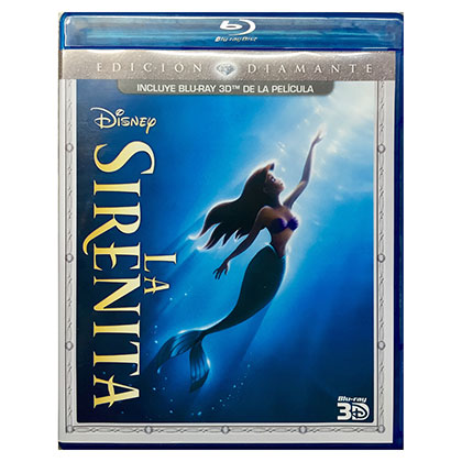 BLURAY DISNEY LA SIRENITA 3D