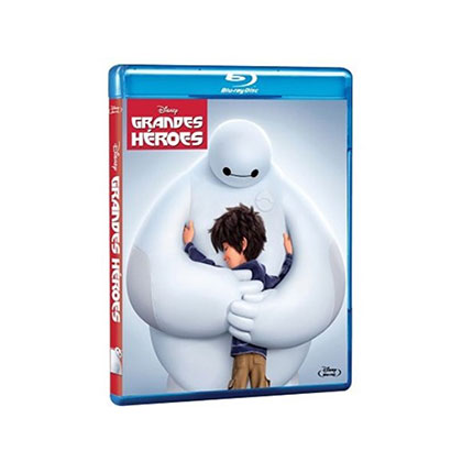 BLURAY DISNEY GRANDES HEROES