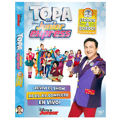 DVD TOPA EN JUNIOR EXPRESS TODOS A BORDO