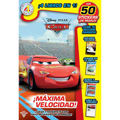 LIBRO DISNEY MINI LIBRO CARS